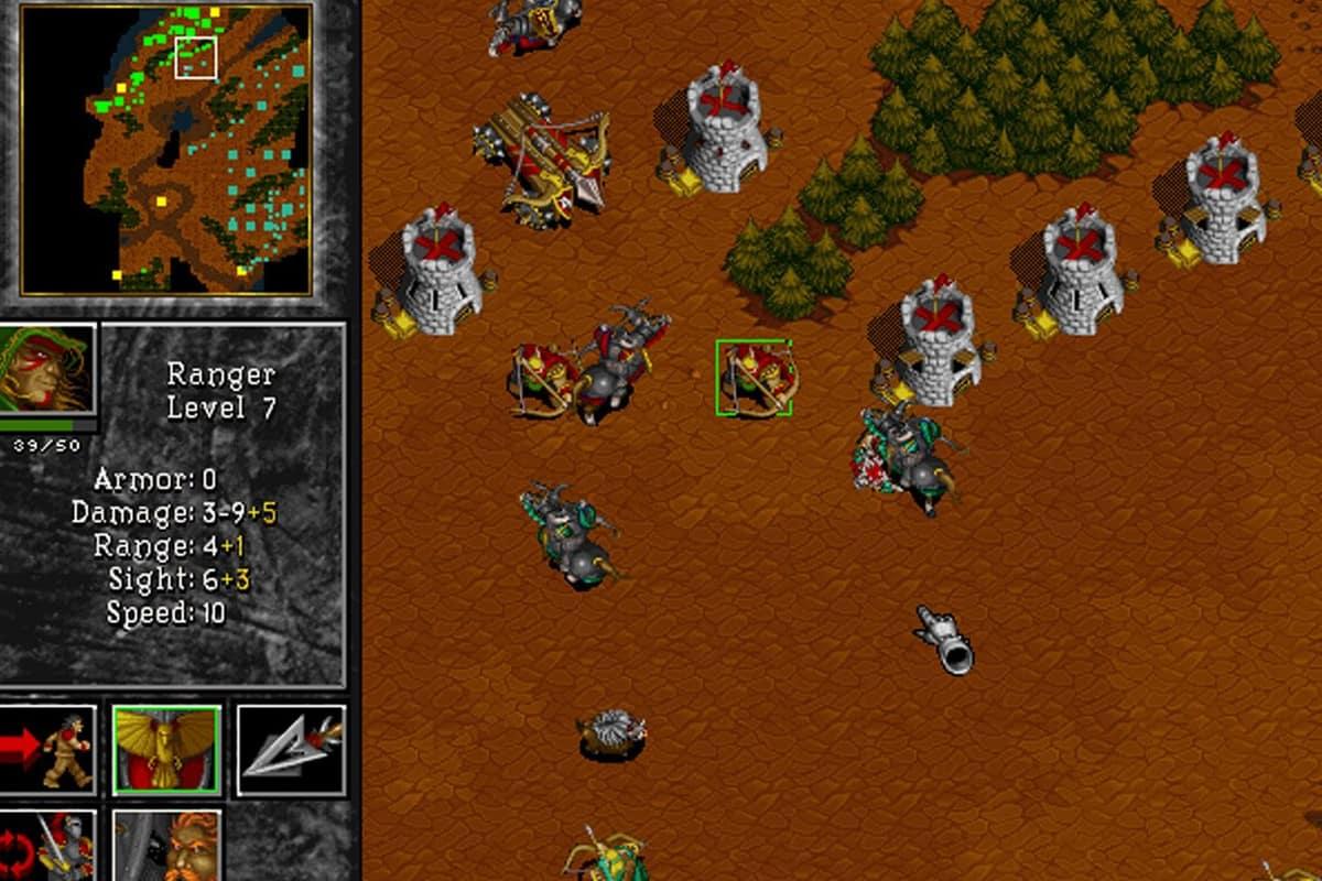 free games warcraft 2