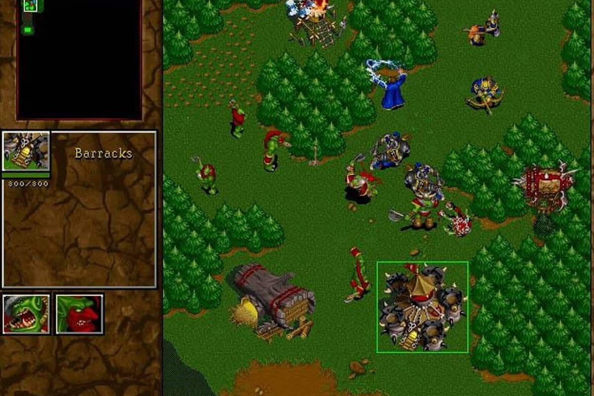WarCraft II: Tides of Darkness | Play game online!
