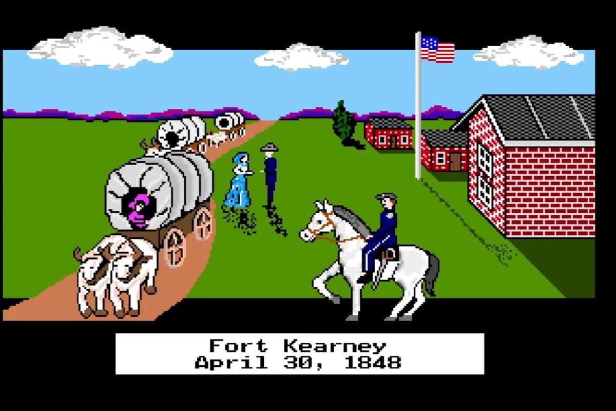 Play Oregon Trail game online!