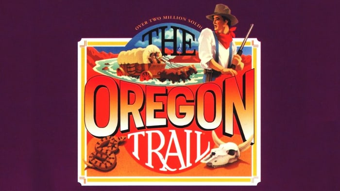 Oregon Trail Deluxe DOS front cover