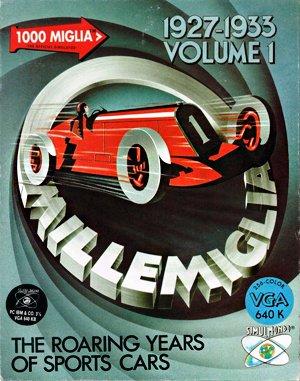 1000 Miglia DOS front cover