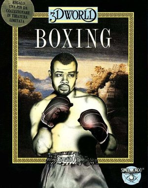 3D World Boxing DOS front cover