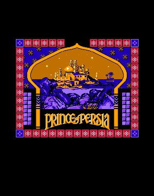 4D Prince of Persia DOS front cover