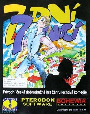 7 dní a 7 nocí (CZ) DOS front cover