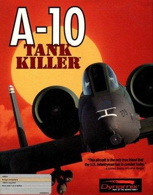 A-10 Tank Killer DOS front cover