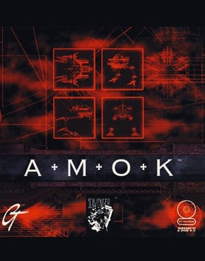 Amok DOS front cover