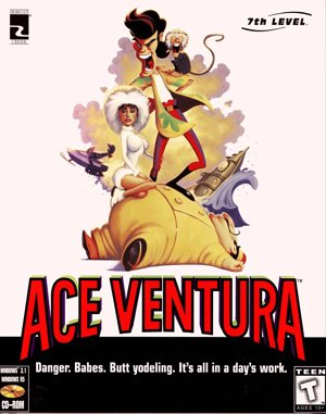 Ace Ventura DOS front cover