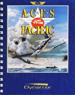 Aces of the Pacific DOS front cover