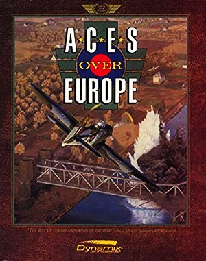 Aces over Europe DOS front cover