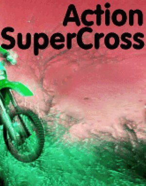 Action SuperCross DOS front cover