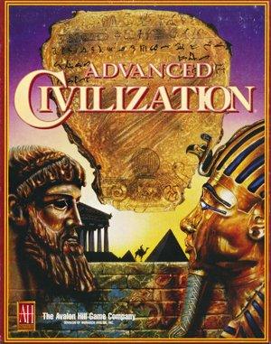Advanced Civilization DOS front cover