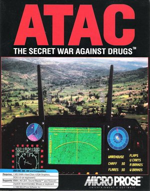 Advanced Tactical Air Command DOS front cover