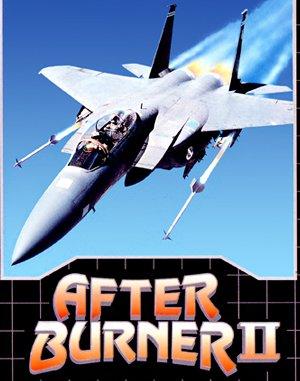After Burner II DOS front cover
