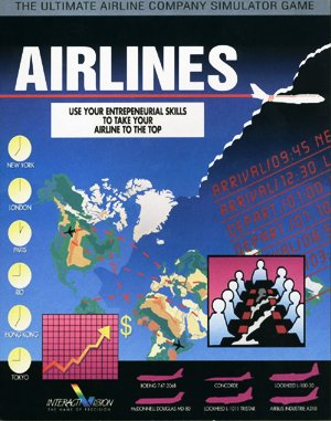 Airlines DOS front cover
