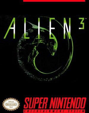 Alien³ SNES front cover