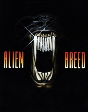 Alien Breed DOS front cover
