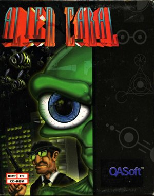 Alien Cabal DOS front cover