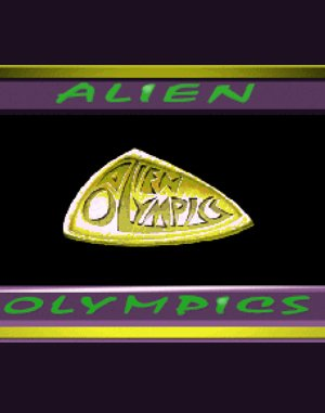 Alien Olympics DOS front cover