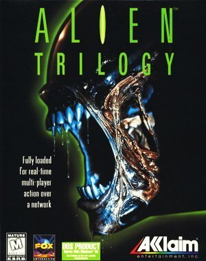 Alien Trilogy DOS front cover