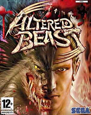 Altered Beast DOS front cover