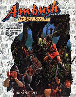 Ambush at Sorinor DOS front cover