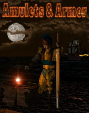 Amulets & Armor DOS front cover
