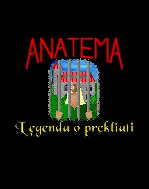 Anatema: Legenda o prekliati DOS front cover