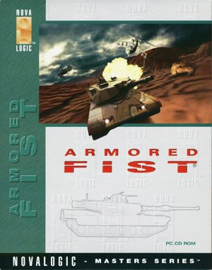 Armored Fist DOS front cover