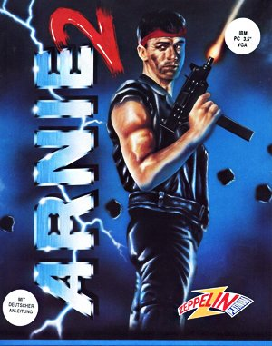 Arnie Savage: Combat Commando DOS front cover