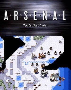 A.R.S.E.N.A.L Taste the Power DOS front cover