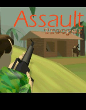 Assault Trooper DOS front cover
