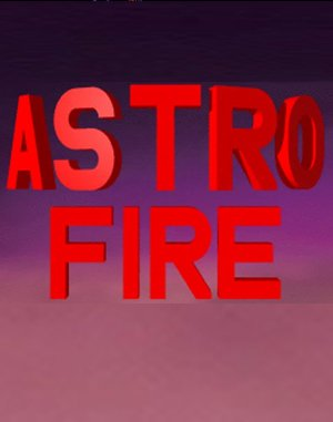 AstroFire DOS front cover