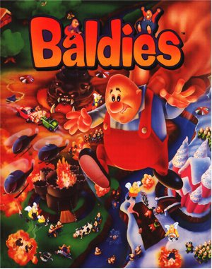 Baldies DOS front cover