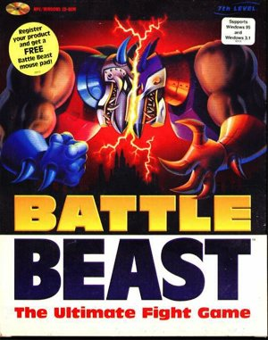 Battle Beast DOS front cover