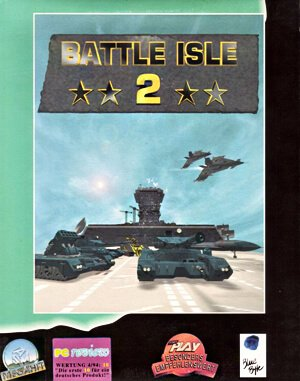 Battle Isle 2200 DOS front cover