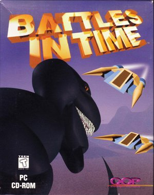 Battles in Time DOS front cover