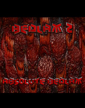 Bedlam 2: Absolute Bedlam DOS front cover