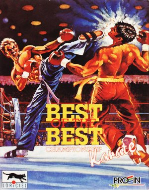 Best of the Best: Championship Karate DOS front cover