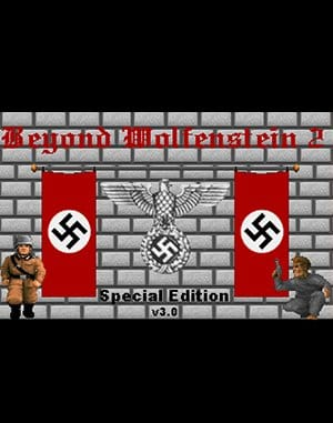 Beyond Wolfenstein 2 DOS front cover