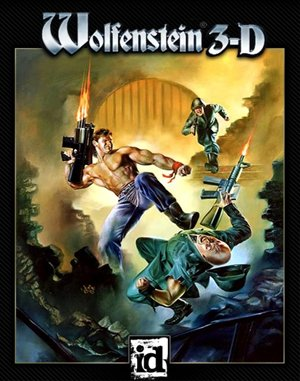 Beyond Wolfenstein DOS front cover