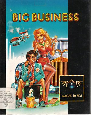 Big Business DOS front cover