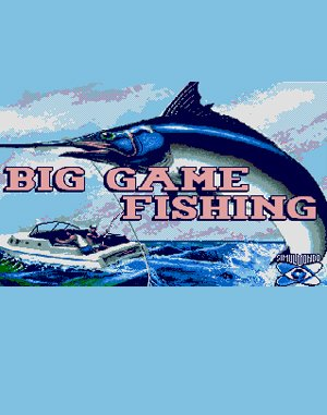 Big Game Fishing DOS front cover