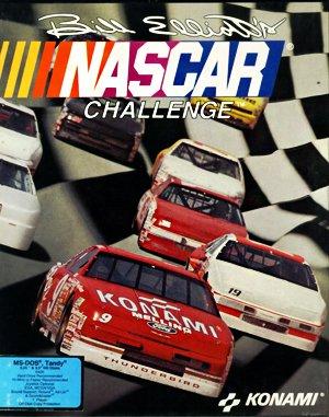 Bill Elliott's NASCAR Challenge DOS front cover