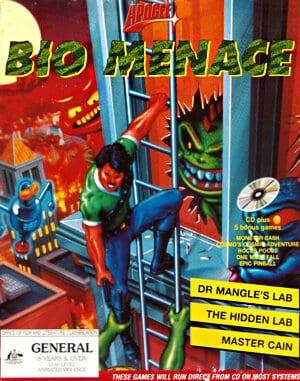 Bio Menace DOS front cover