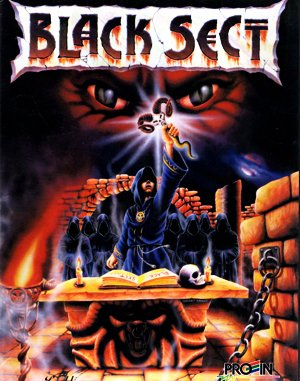 Black Sect DOS front cover