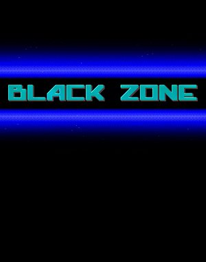 Black Zone DOS front cover