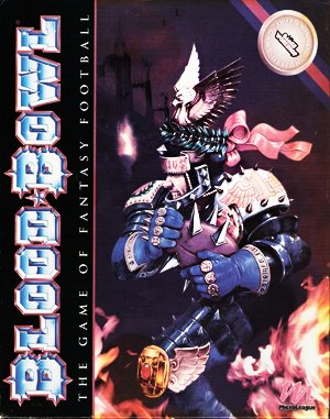 Blood Bowl DOS front cover