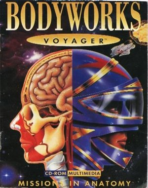 Bodyworks Voyager: Missions in Anatomy DOS front cover