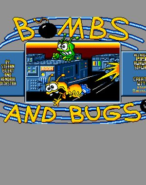 Bombs and Bugs DOS front cover