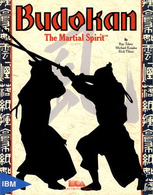 Budokan: The Martial Spirit DOS front cover